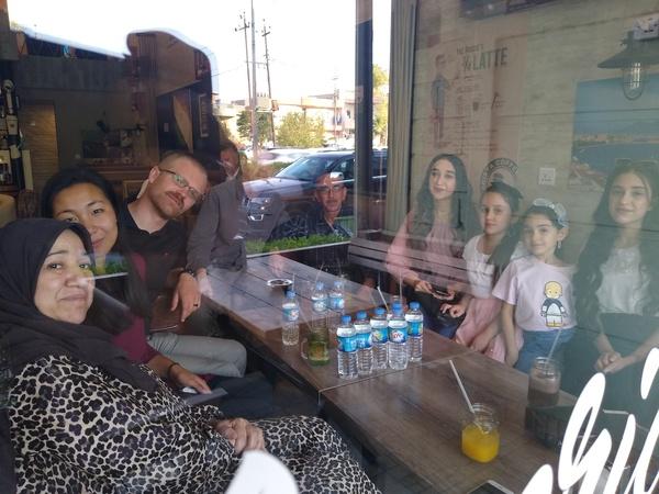 meeting mustafa family