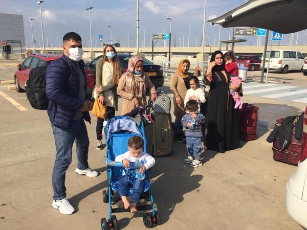 iraqi airport arrivals