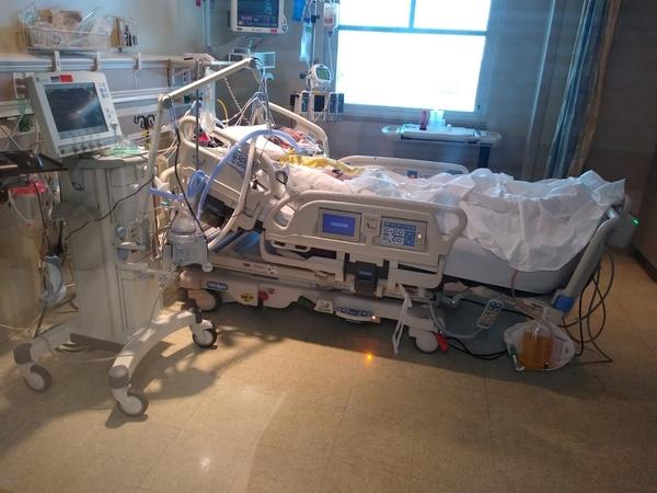 frank in hospital