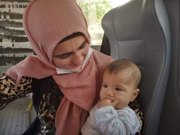 amin and mother