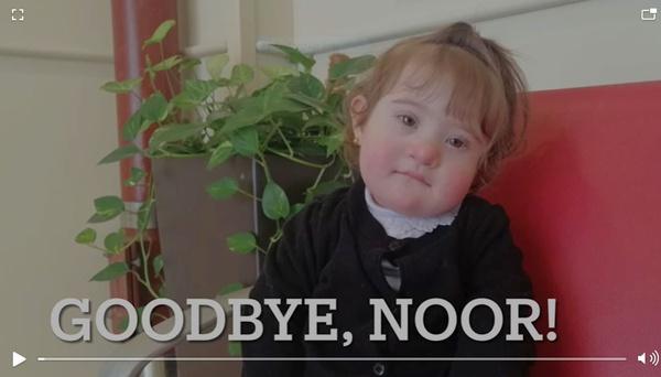 noor farewell video